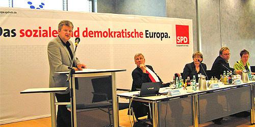 Stefan Politze bei seiner Rede