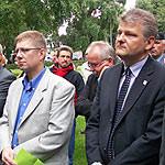 Stefan Politze bei Gedenkveranstaltung am Maschsee