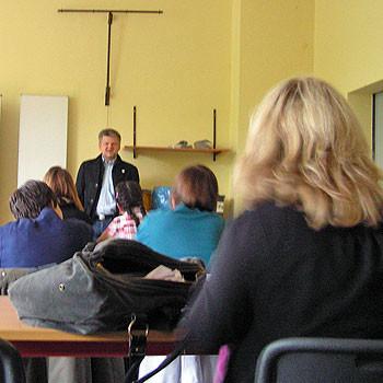 Europatag - Stefan Politze zu Besuch in der Ludwig-Windthorst-Schule
