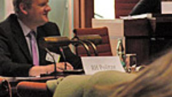 """Stefan Politze leitete Ausschusssitzung beim Projekttag """"Pimp your town"""""""