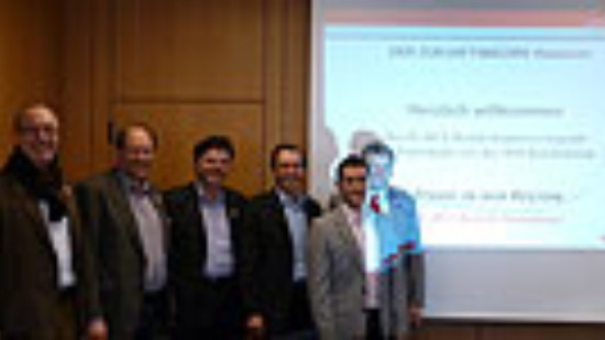 v.l.n.re: W. Blossey, J. Mineur, M. Hanske, R. Borchers, M. Erkan, S. Politze