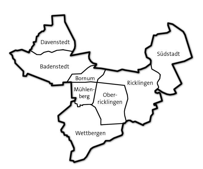 Der Wahlkreis 27 (Hannover-Ricklingen)